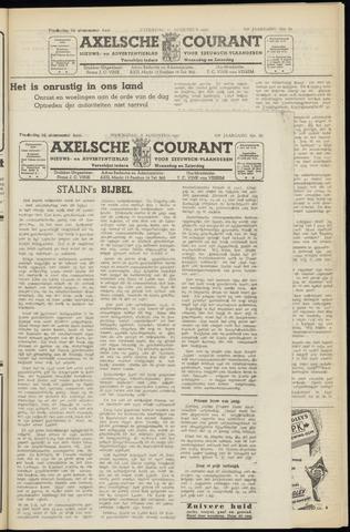 Axelsche Courant 1951-08-08