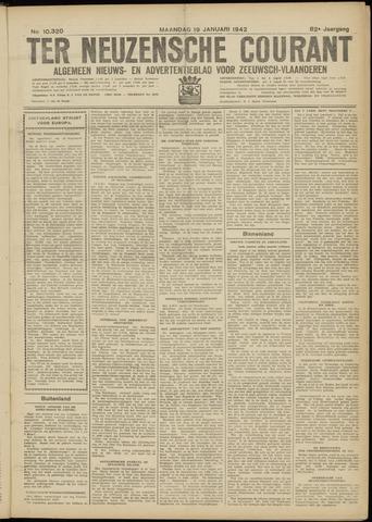 Ter Neuzensche Courant. Algemeen Nieuws- en Advertentieblad voor Zeeuwsch-Vlaanderen / Neuzensche Courant ... (idem) / (Algemeen) nieuws en advertentieblad voor Zeeuwsch-Vlaanderen 1942-01-19
