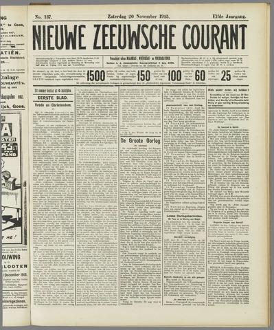 Nieuwe Zeeuwsche Courant 1915-11-20