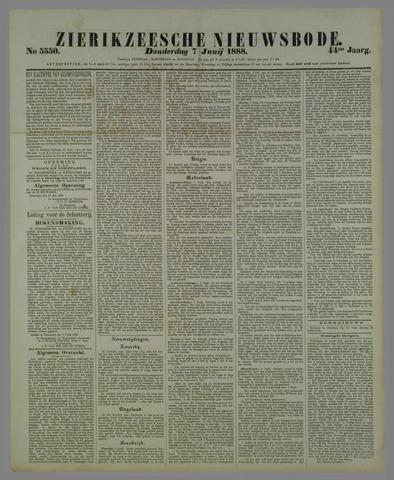 Zierikzeesche Nieuwsbode 1888-06-07