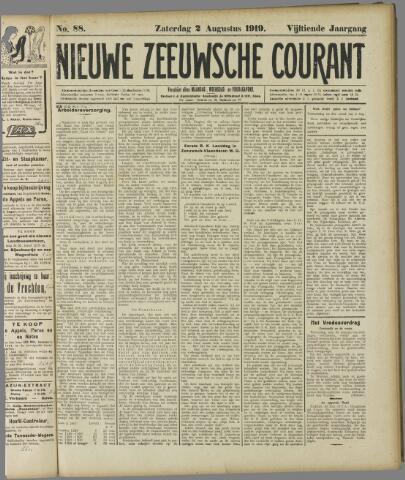 Nieuwe Zeeuwsche Courant 1919-08-02