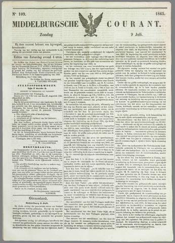 Middelburgsche Courant 1865-07-09