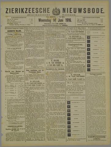 Zierikzeesche Nieuwsbode 1916-06-10