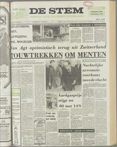 de Stem 1976-12-08
