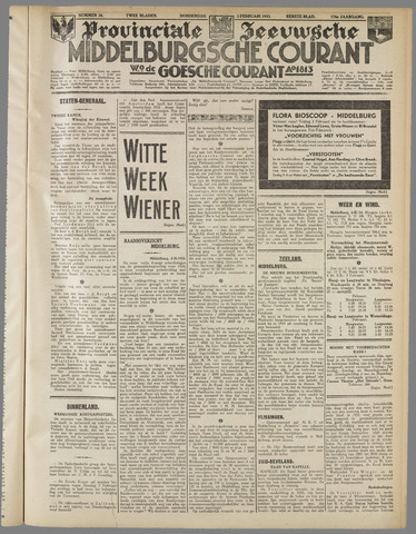Middelburgsche Courant 1933-02-02