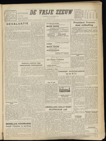 de Vrije Zeeuw 1949-09-24
