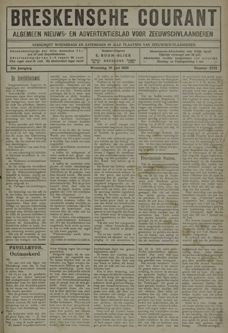 Breskensche Courant 1920-06-30