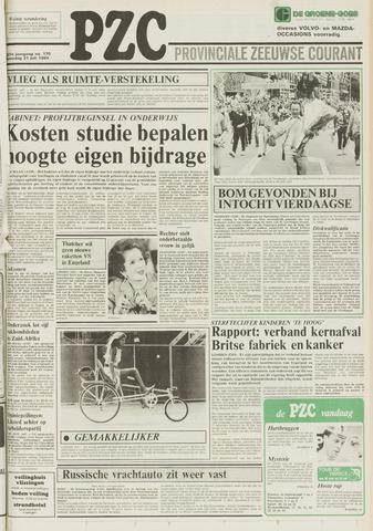 Provinciale Zeeuwse Courant 1984-07-21