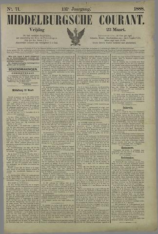 Middelburgsche Courant 1888-03-23