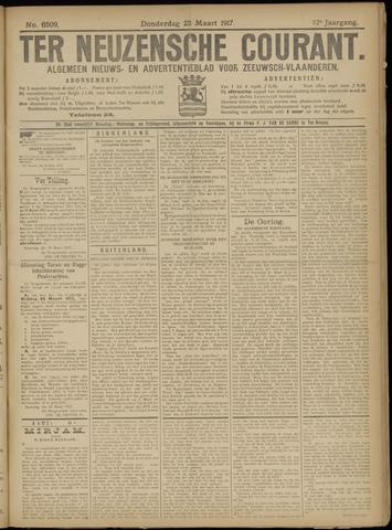 Ter Neuzensche Courant. Algemeen Nieuws- en Advertentieblad voor Zeeuwsch-Vlaanderen / Neuzensche Courant ... (idem) / (Algemeen) nieuws en advertentieblad voor Zeeuwsch-Vlaanderen 1917-03-22