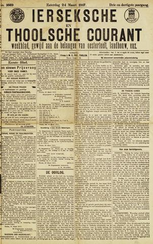 Ierseksche en Thoolsche Courant 1917-03-24