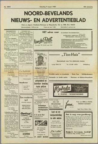 Noord-Bevelands Nieuws- en advertentieblad 1957-03-09