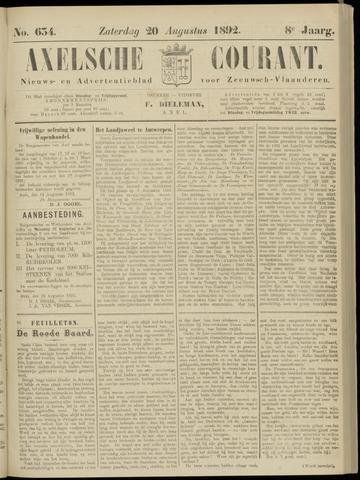 Axelsche Courant 1892-08-20