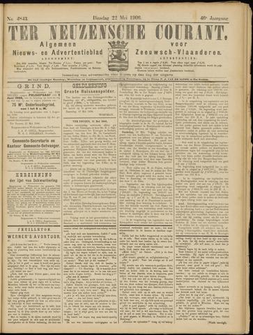 Ter Neuzensche Courant. Algemeen Nieuws- en Advertentieblad voor Zeeuwsch-Vlaanderen / Neuzensche Courant ... (idem) / (Algemeen) nieuws en advertentieblad voor Zeeuwsch-Vlaanderen 1906-05-22