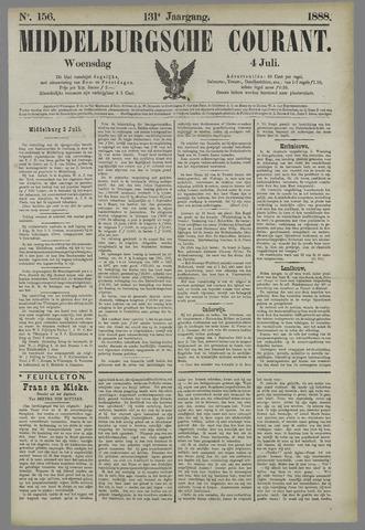 Middelburgsche Courant 1888-07-04