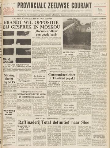 Provinciale Zeeuwse Courant 1970-07-09