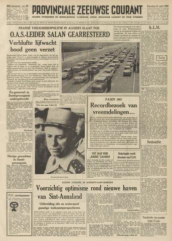 Provinciale Zeeuwse Courant 1962-04-21