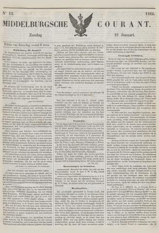 Middelburgsche Courant 1866-01-21