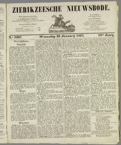 Zierikzeesche Nieuwsbode 1863-01-28