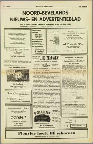 Noord-Bevelands Nieuws- en advertentieblad 1960-10-01