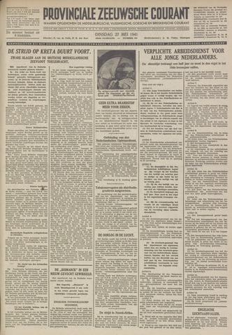 Provinciale Zeeuwse Courant 1941-05-27