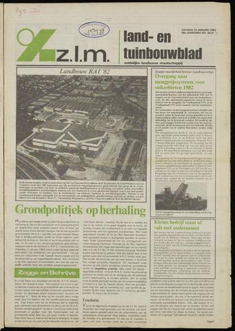 Zeeuwsch landbouwblad ... ZLM land- en tuinbouwblad 1982-01-15