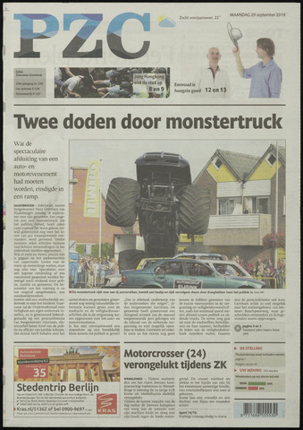 Provinciale Zeeuwse Courant 2014-09-29