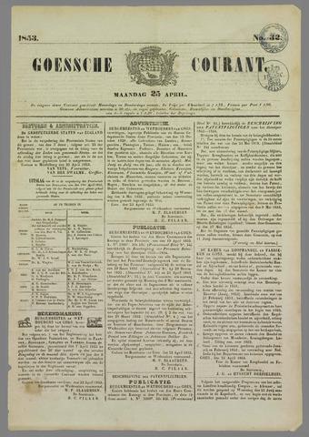 Goessche Courant 1853-04-25