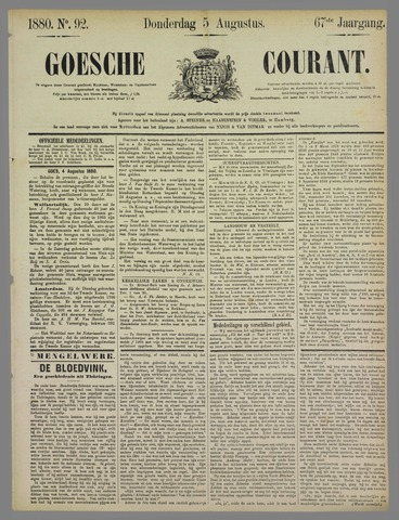 Goessche Courant 1880-08-05