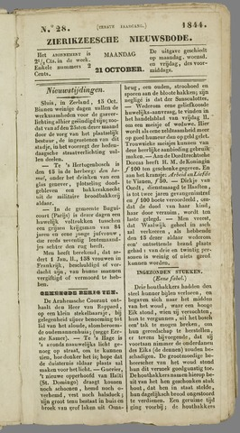 Zierikzeesche Nieuwsbode 1844-10-21