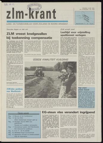 Zeeuwsch landbouwblad ... ZLM land- en tuinbouwblad 1993-05-14