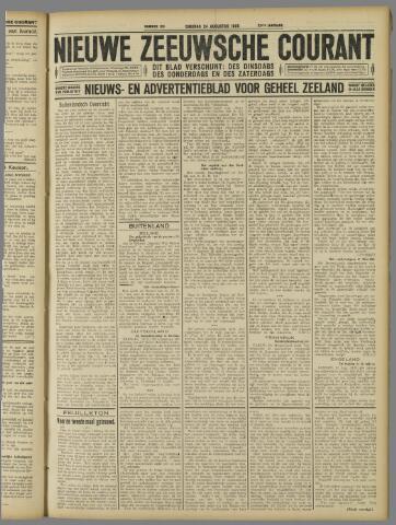 Nieuwe Zeeuwsche Courant 1926-08-24