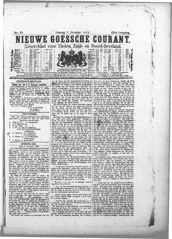 Nieuwe Goessche Courant 1876-12-05
