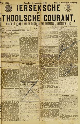 Ierseksche en Thoolsche Courant 1905-08-12