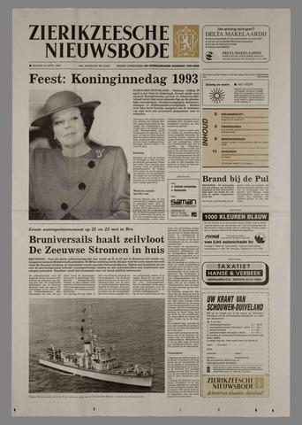 Zierikzeesche Nieuwsbode 1993-04-30