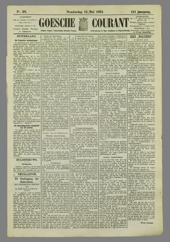 Goessche Courant 1924-05-15