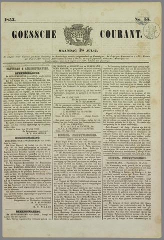 Goessche Courant 1853-07-18