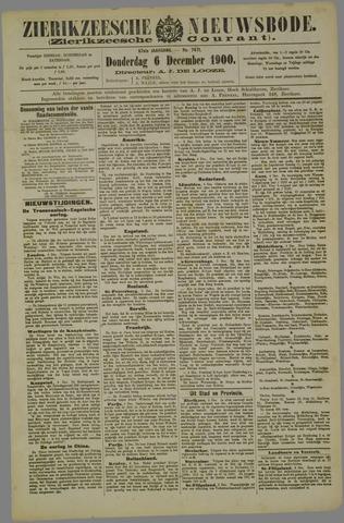 Zierikzeesche Nieuwsbode 1900-12-06