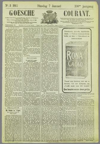 Goessche Courant 1913-01-07