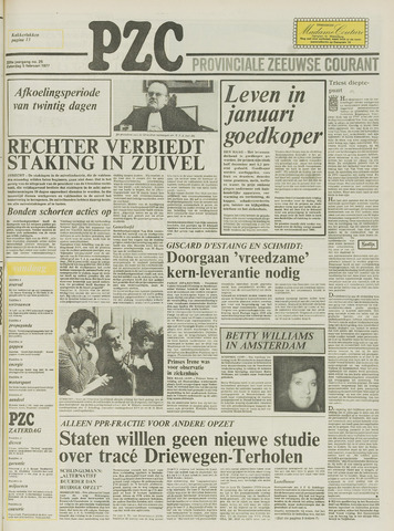 Provinciale Zeeuwse Courant 1977-02-05