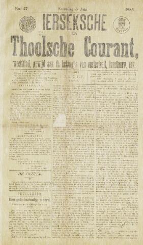Ierseksche en Thoolsche Courant 1886-06-05
