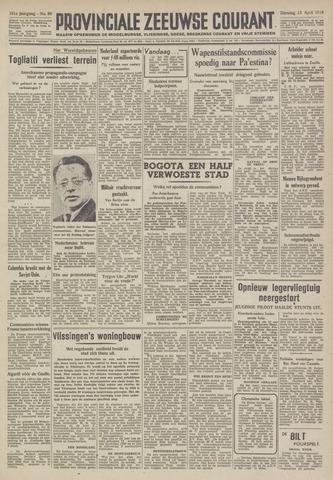 Provinciale Zeeuwse Courant 1948-04-13