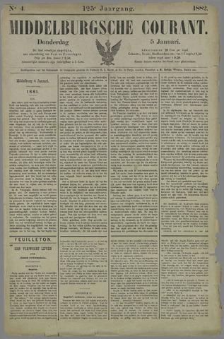 Middelburgsche Courant 1882-01-05