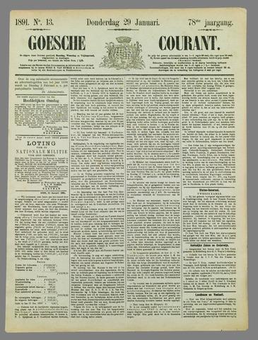 Goessche Courant 1891-01-29