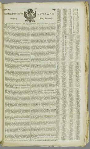 Middelburgsche Courant 1809-02-07
