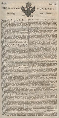 Middelburgsche Courant 1777-03-01
