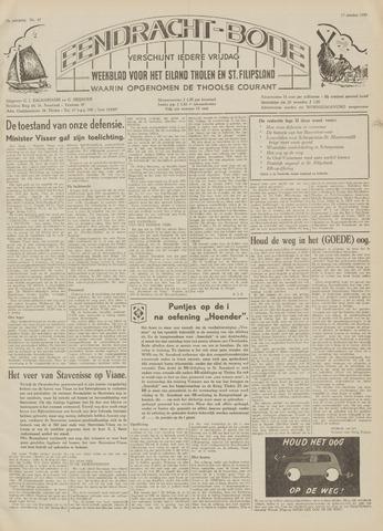 Eendrachtbode (1945-heden)/Mededeelingenblad voor het eiland Tholen (1944/45) 1959-10-17