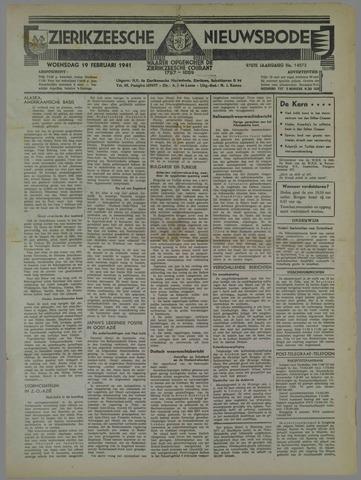 Zierikzeesche Nieuwsbode 1941-02-19