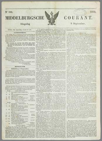 Middelburgsche Courant 1862-09-09