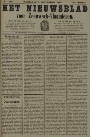 Nieuwsblad voor Zeeuwsch-Vlaanderen 1900-09-05